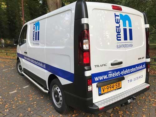 Melet Elektrotechniek in Noord-Holland, voor bedrijven en particulieren